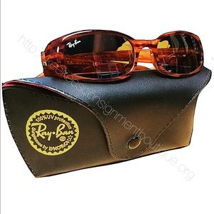 Ray Bans, Sunglasses (Like New) With Case
